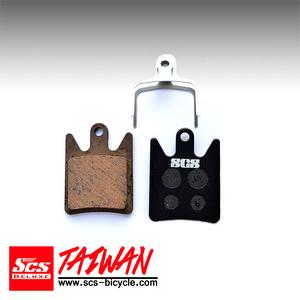 SCS Organic Disc Brake Pad for Hope moto V2【SDP-58H】
