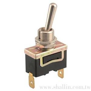 2P toggle switch (SPST) on-off 250V 10A