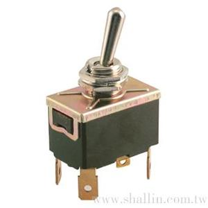 4P toggle switch (DPST) on-off 250V 10A