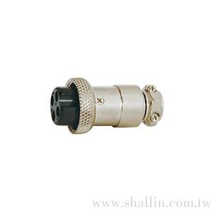 4P MIC female M16 connector