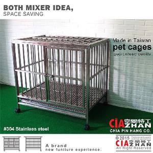 #304 Stainless steel cages (3x2 foot)