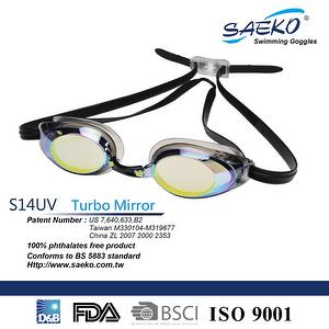 Best-selling Racing SWIMMING GOGGLES_S14UV Turbo Mirror