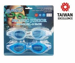 SWIMMING GOGGLES - S52 Pacific Junior Combo Pack