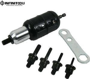 [copy]Professional Rivets Nut Drill Attachment,M10