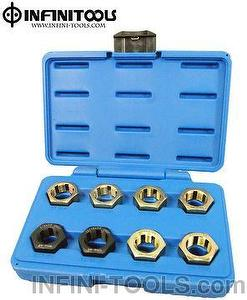 8-piece Thread Repair Set for Drive Shafts / Prop Shafts