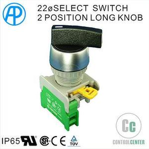 22mm SELECT SWITCH 2 POSITION TYPE AP B-TYPE
