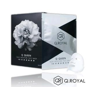 [Q.ROYAL]Q Queen Silky Moisture Face Mask (6 PIECE)