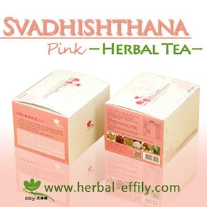 Effily Svadhishthana (Pink) Herbal Tea
