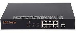 8 Ports POE Switch