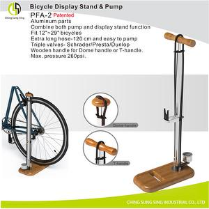 Bicycle Display Stand & pump