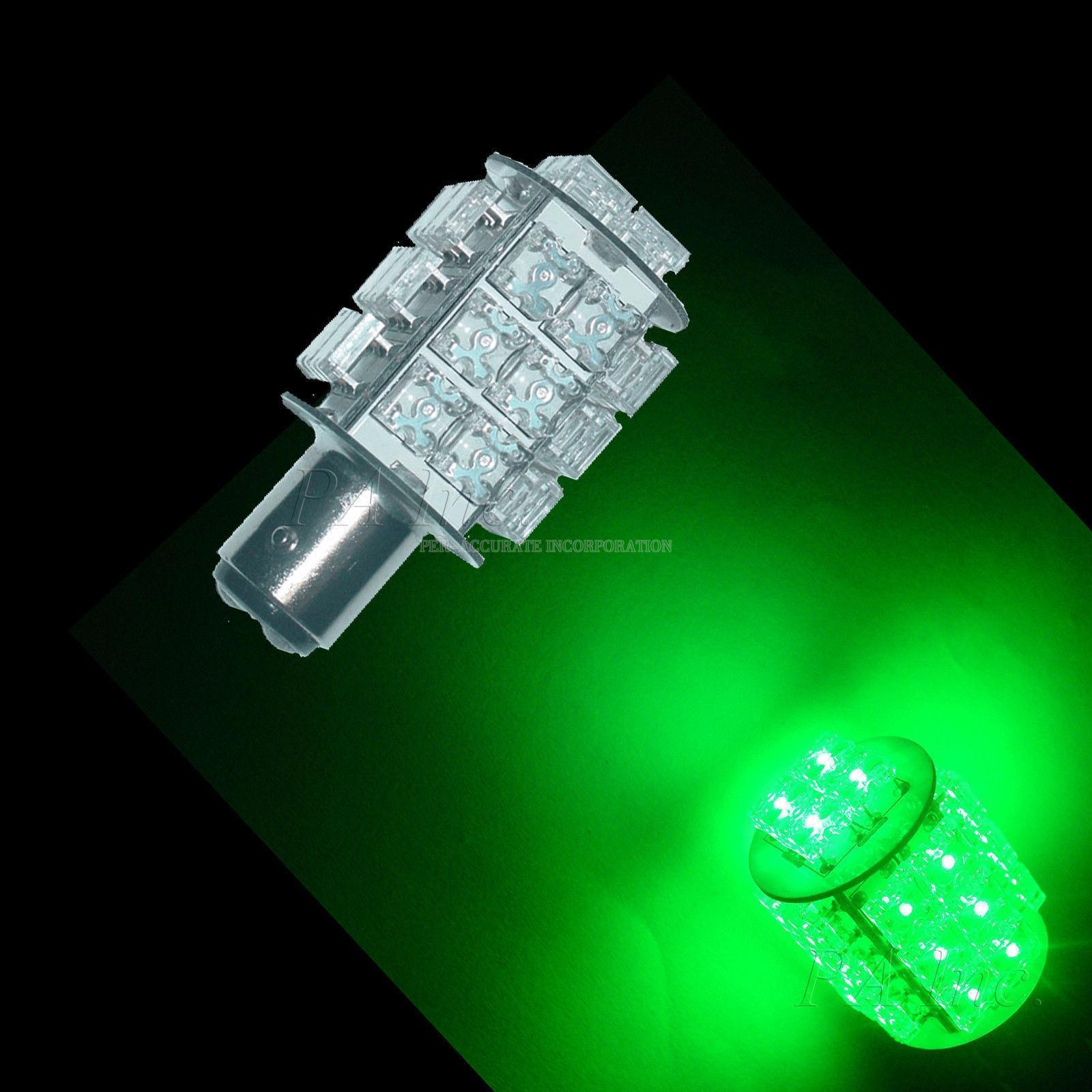 1pcs 1157 Bay15s Super Flux For Scooter Motorcycle Led Brake Light Bulbs Green Led Indicate