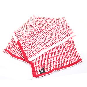 Cashmere-Like Shawl-Red