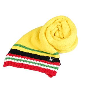 Cashmere-Like Amti-erethism & warm Color Muffler-Yellow