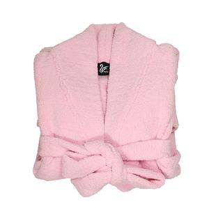 Cashmere-Like Adult Robe-Pink