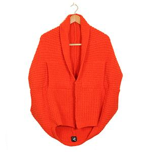 Cashmere-Like Multi-function Vest-Orange