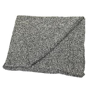 Cotton Seasonless Blanket -Black