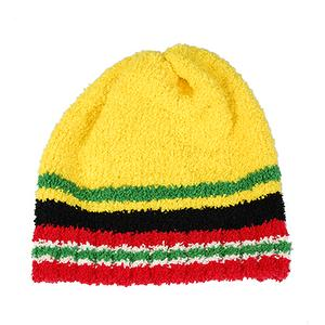 Cashmere-Like Amti-erethism & warm Cap-Yellow