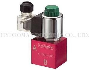 Cartridge solenoid check valve-V2068-T02-20-S-N-D24-DG-25