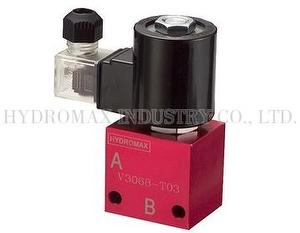 Cartridge solenoid check valve V3068-T03-20-S-N-D24-DG-25