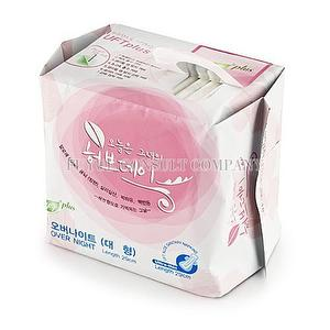 Herbal Aloe UFT Sanitary Napkins - Peace of Mind for Nightti