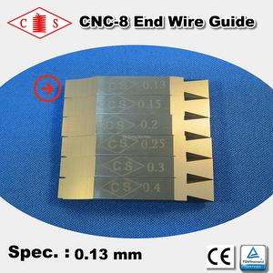 CNC-8 End Wire Guide 0.13 mm