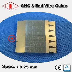 CNC-8 End Wire Guide 0.25 mm