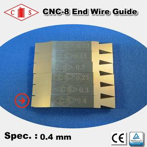 CNC-8 End Wire Guide 0.4 mm