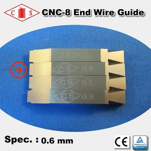 CNC-8 End Wire Guide 0.6 mm
