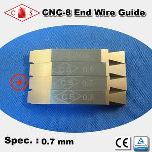 CNC-8 End Wire Guide 0.7 mm