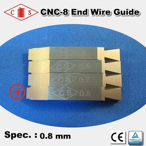 CNC-8 End Wire Guide 0.8 mm