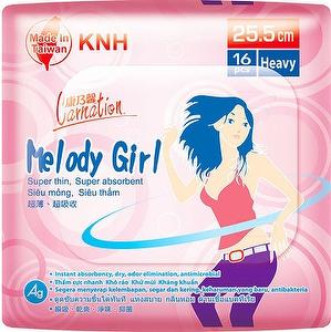 Carnation Sanitary Napkin Ultra Thin -Melody Girl Heavy