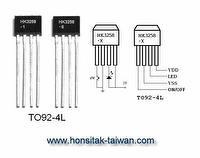 LED Blinking IC HK3258, TO92-4L