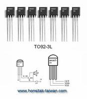 Simple Melody IC HK66T, TO92-3L