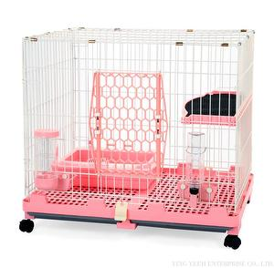 New Pet Cat Cage(4 colors )With Wheels