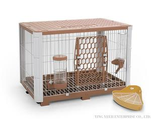 New Trendy Rabbit Bunny Dog Small Animal Hutch Cage