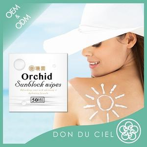 Don Du Ciel Refreshing Moisturizing Sunscreen Wipes SPF 50