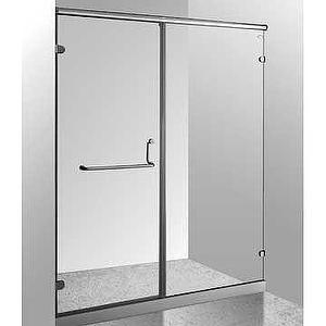 Shower door,frameless shower door,shower,flexible system