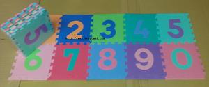 Numbers Jigsaw Play mats
