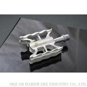 SIQUAR Road bike pedal color silver