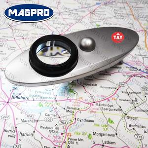 《Magpro》LED mini lighted 10 times magnifying glass