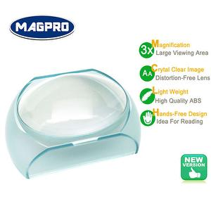 oval dome hands-free reading magnifier
