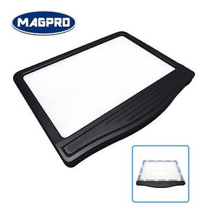 plastic frame LED page magnifying sheet