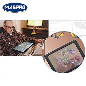 lighted hand-free page magnifier