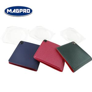 synthetic leather cover pocket magnifier