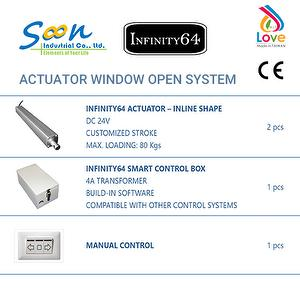 INFINITY64 Actuator Electric window opener