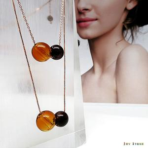 Garnet January S925 Diffuser Necklace Bracelet Combo