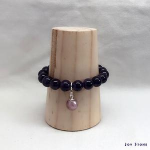 Diffuser Bracelet 10mm Amethyst Beads Precious Stones