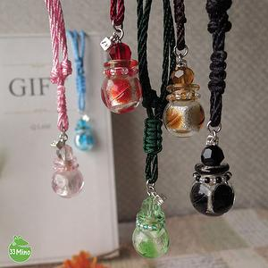 ESSENTIAL OIL LIULI CORD AROMA VIAL NECKLACE 1