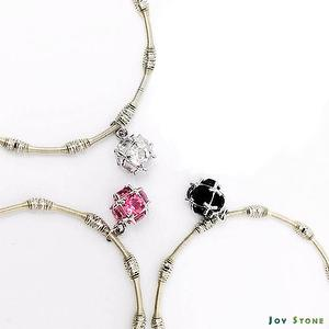 Xmas Party Queen Silver Beads Bracelets - Snowballs