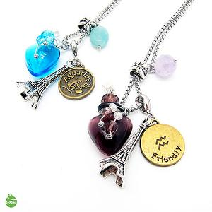 AQUARIUS CONSTELLATION ZODIAC SIGN AROMA VIAL NECKLACE 1